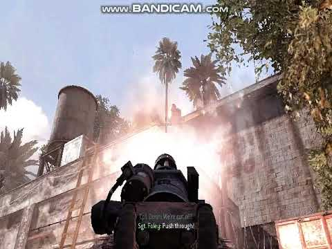 CALL OF DUTY MODERN WARFARE 2 ACT-1 GAME PLAYER GAMEPLAY