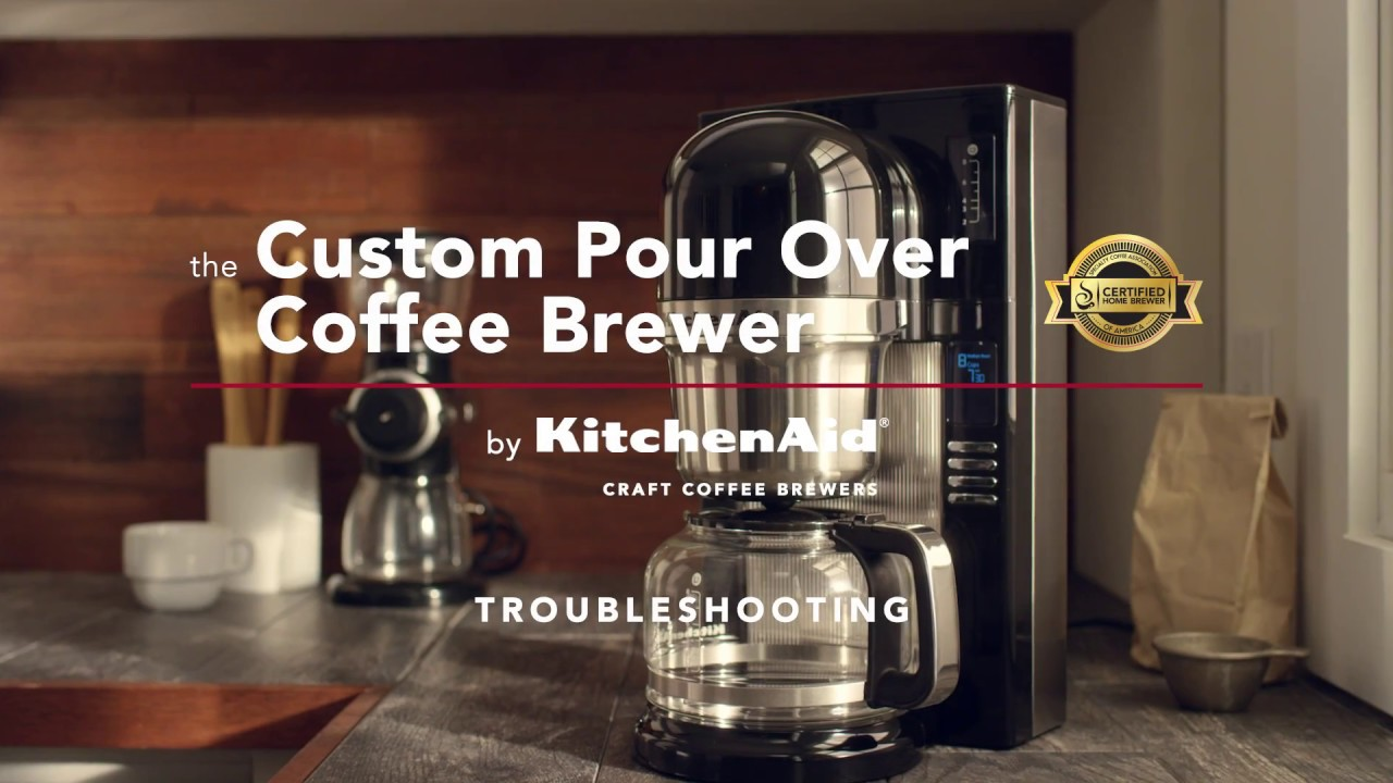 Kitchenaid pour over coffee brewer troubleshooting youtube sciox Image collections
