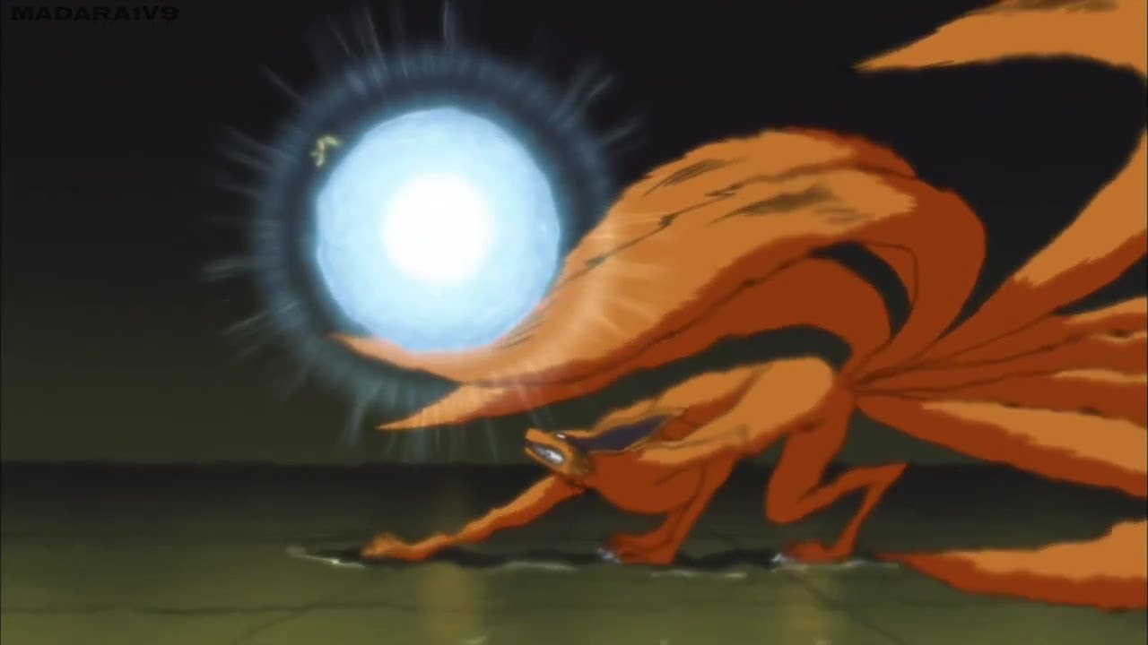 Naruto Vs Kurama(Nine ...