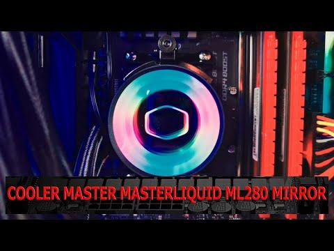 Cooler Master MasterLiquid ML280 Mirror RGB Effekte Video