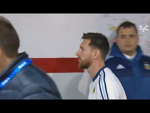 Las caras de los jugadores post Argentina 1-1 Venezuela