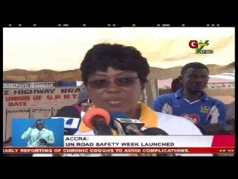 UN Road Safety Week Launched