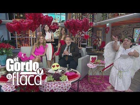 Así celebra El Gordo y La Flaca el Día de San Valentín