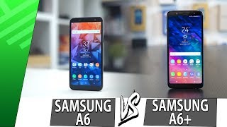 Samsung A6 VS Samsung A6+ | Enfrentamiento | Review | Unboxing