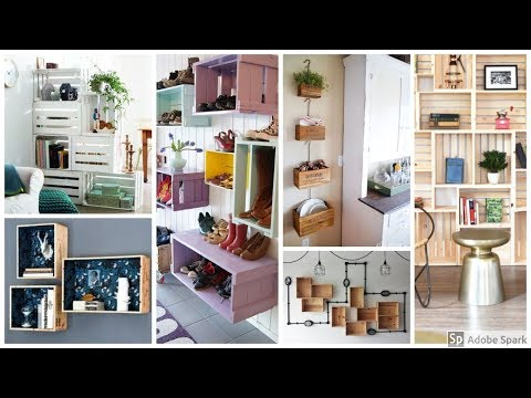 Crate DIY Ideas | Part 2: Shelves and Wall Decor Series