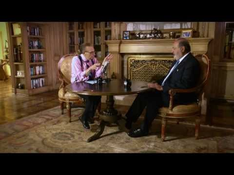 Larry King entrevista al Ing. Carlos Slim para Ora.Tv
