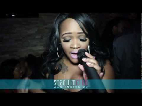 Adult Film Star Gizelle Xxx Parties At Showtime Saturdays At Stadium Club In Dc