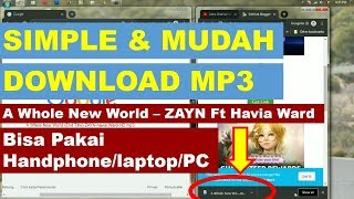Download MP3 - A Whole New World (End Title) ZAYN ft havia Ward