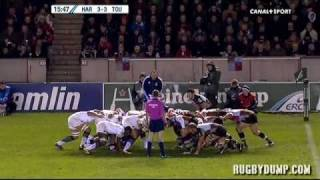 Tries in Europe 2011 2012 day 3 Harlequins - Toulouse