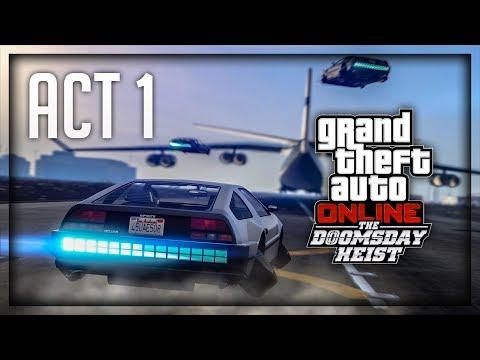 RADIMO NAJJACI HEIST U IGRICI ! Grand Theft Auto V - The Doomsday Heist - Act 1 - Livestream