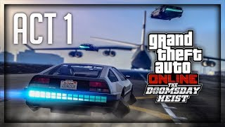 RADIMO NAJJACI HEIST U IGRICI ! Grand Theft Auto V - The Doomsday Heist - Act 1 - Livestream