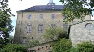 Exploring Oslo Castle Fortress, Akershus, Oslo City Center
