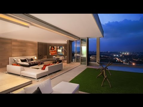 Gorgeous Luxury Triplex Penthouse in Johannesburg, South Africa (by SAOTA and OKHA Interiors)