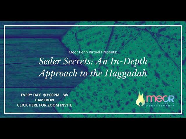 The Essence of Passover - Seder Secrets - Class #9