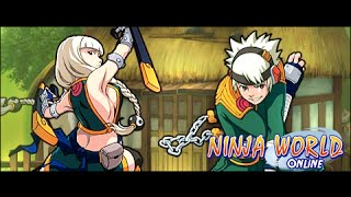 Ninja world  Гора Мьебоку Прохождение Темари