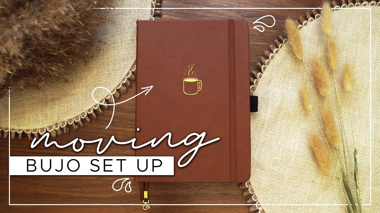 Moving BuJo Set Up  |  Moving Spread Ideas for your Bullet Journal!