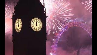 London Eye New Year Fireworks 2019