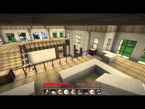 minecraft moderne villa bauen teil 2 youtube. Black Bedroom Furniture Sets. Home Design Ideas