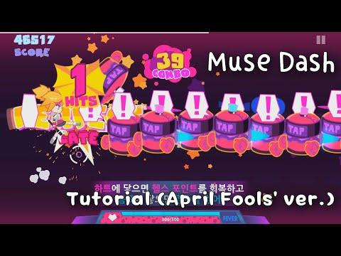 [Muse Dash (PC)] Tutorial (April Fools' ver.)