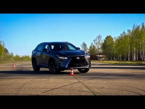 Lexus RX Лосиный тест. Крены