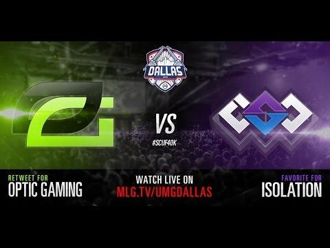 Optic Gaming vs Isolation UMG Dallas 2015