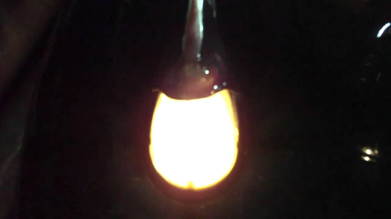 Comparatif Lampe 6v 15w Et Led Youtube