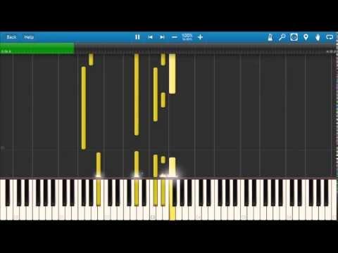 Mika - Happy Ending (Synthesia piano tutorial)