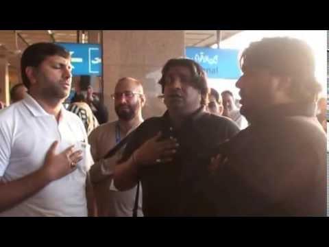 04-Dec-2014 Airguide group leaving Karachi Airport for Arbaeen Ziyarat