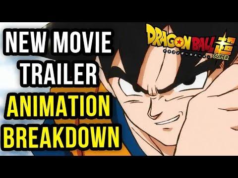 Dragon Ball Super Movie - Teaser Trailer Animation Breakdown (Fixed Upload)