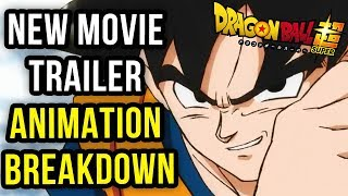 Dragon Ball Super Movie - Teaser Trailer Animation Breakdown (Fixed Upload)