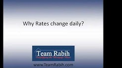 Why mortgage rates change? What's the reality about rates? | Your First Home 101 | TeamRabih