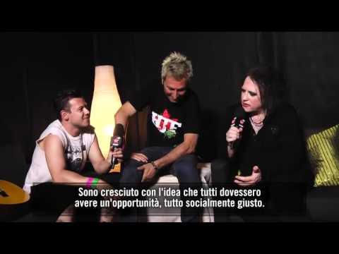 Robert Smith Heineken Jammin' (Italy) Interview w/Virgin Radio 2012