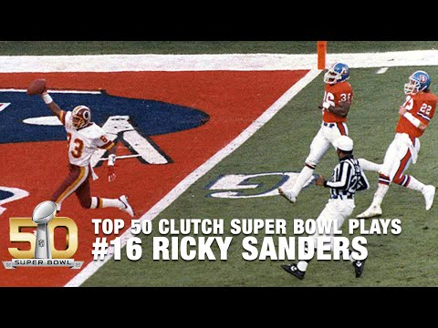 #16: Doug Williams & Ricky Sanders Spark the Redskins in Super Bowl XXII | Top 50 Clutch SB Plays