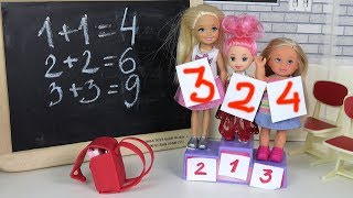 ПЕРВОЕ МЕСТО ЗА ДВОЙКУ Мультик #Барби Школа Про школу Куклы  Для девочек