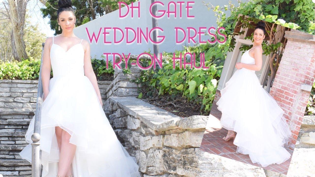 Wedding Dress Try On Haul Dhgate