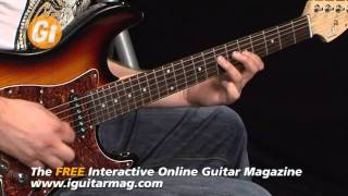 G&L Tribute S-500 Guitar Demo / Review With Tom Quayle iGuitar Mag Feature