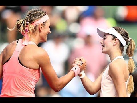 2018 Miami First Round | Victoria Azarenka vs. CiCi Bellis | WTA Highlights