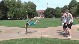 Purdue Gymnastics Team - I