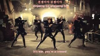 MBLAQ - This is war (전쟁이야) MV [eng subs + romanization + hangul]
