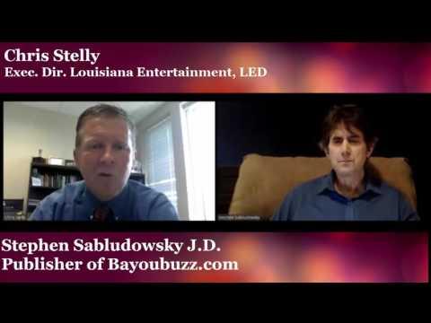 Chris Stelly talks about Louisiana Live Performance tax credit program