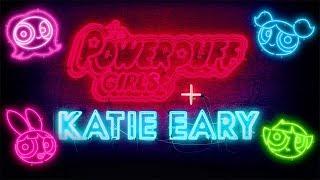 2018 Katie Eary x Powerpuff Girls   Londra Moda Haftası   Cartoon Network