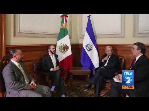 México: AMLO se reúne con presidente electo de El Salvador