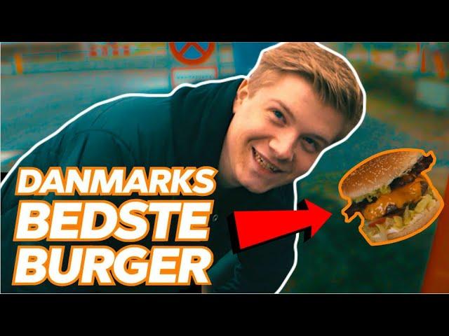 JAGTEN PÅ DANMARKS BEDSTE BURGER!!