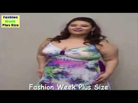 Fashion Week Plus Size 2017 - Ladies Fashion Walk In Swimwear & Plus Size Bikini - Fashion Show. -n