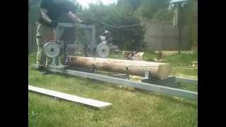 Ленточная мини пилорама Астрогань 220в