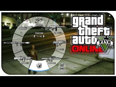GTA 5 Online - Save Weapon Wheel Gun Defaults! (How To / Tutorial) [GTA V Tips & Tricks]