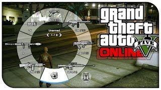 GTA 5 Online - Save Weapon Wheel Gun Defaults! (How To / Tutorial) [GTA V Tips & Tricks]