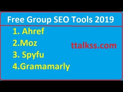 Free Group Buy SEO Tools 2019 (All Premium SEO Tools)