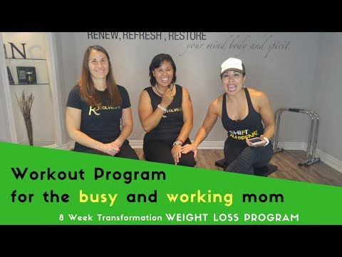 Best workout program for busy and working moms
