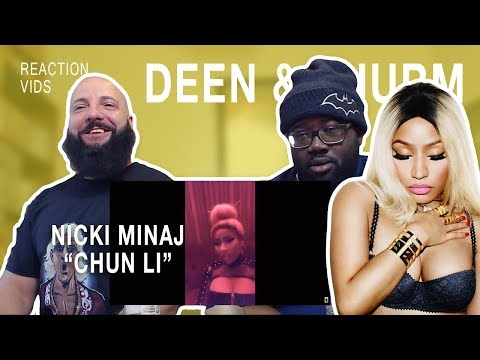 "Nicki Minaj ""Chun Li"" - Deen & Thurm Reaction"